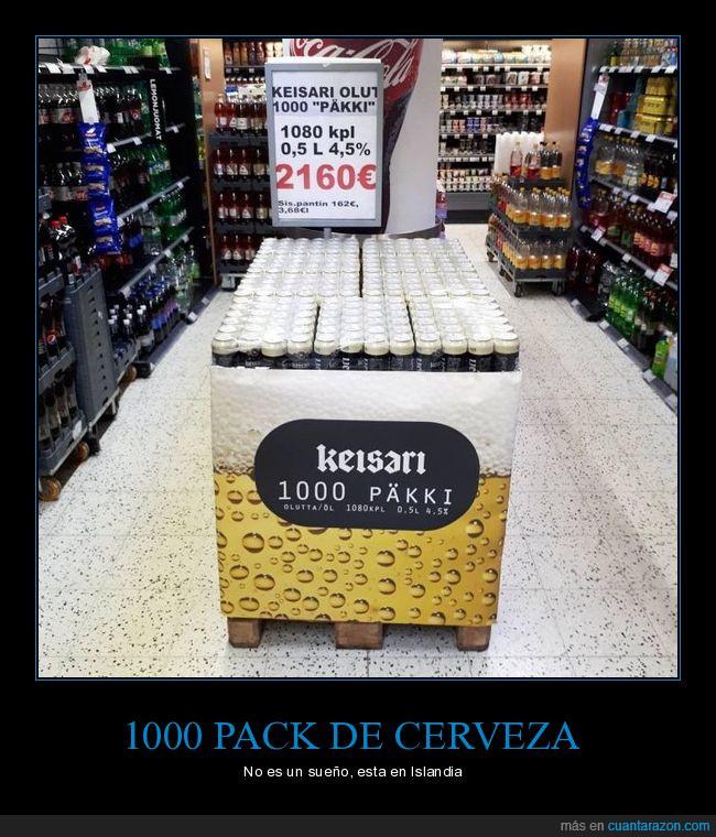 1000 pack,cerveza,cuando vamos?,Islandia