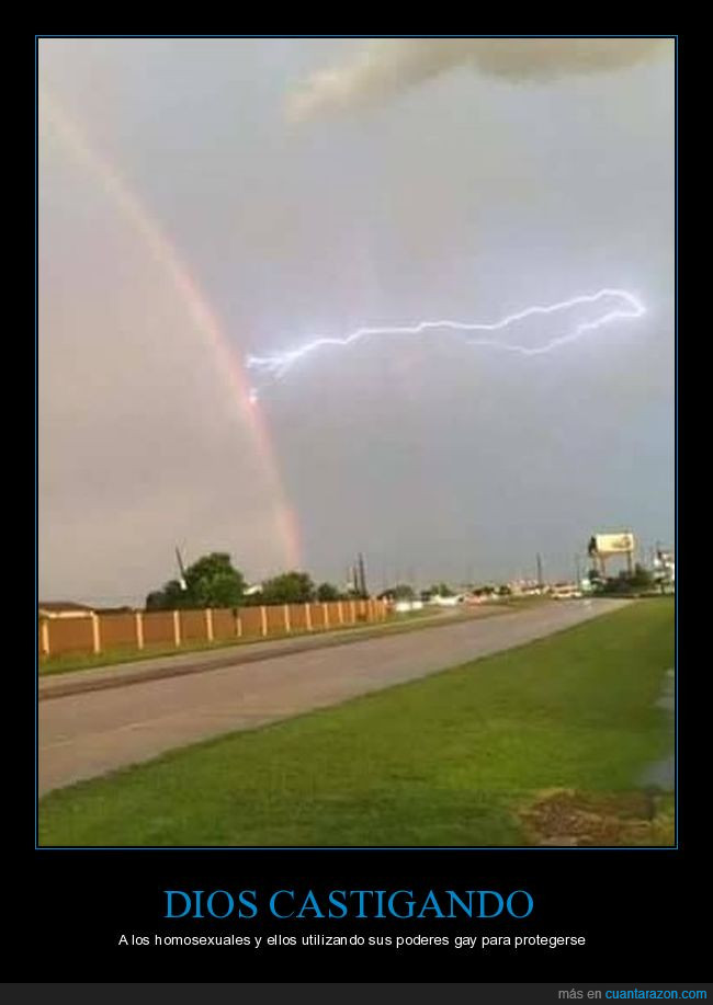 arcoiris,cielo,rayo