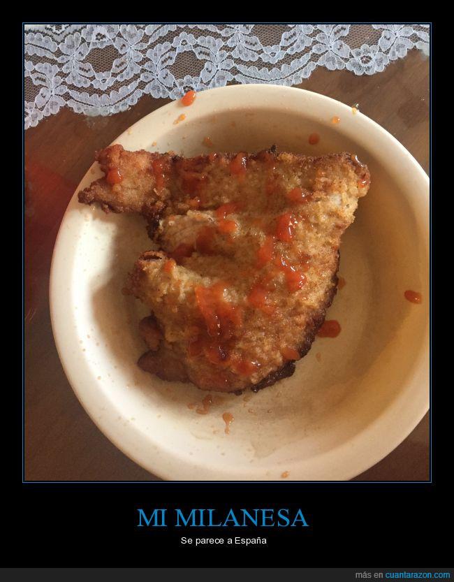 comida,España,milanesa