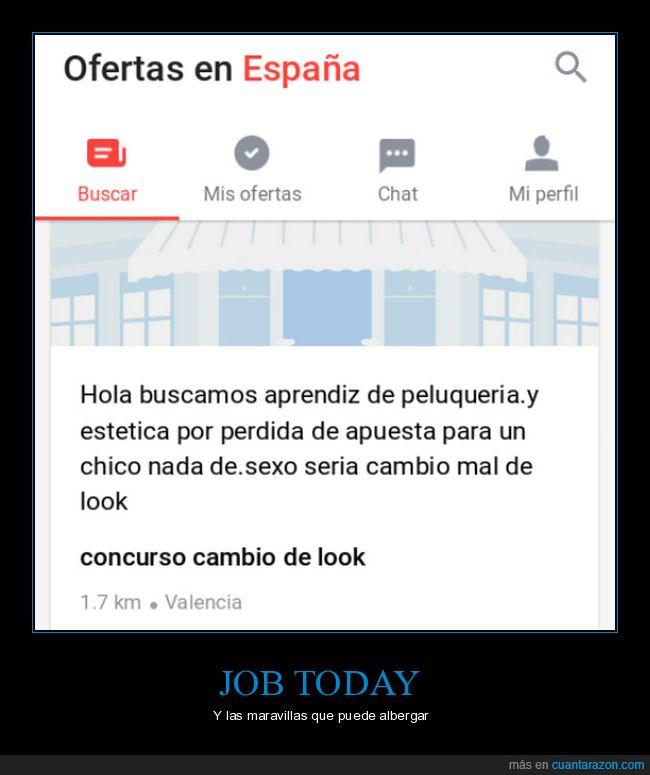 Job Today,maravilla