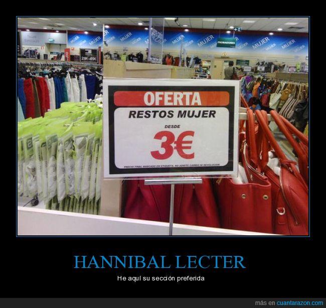 bolsos,cartel,euros,hannibal,lecter,tienda