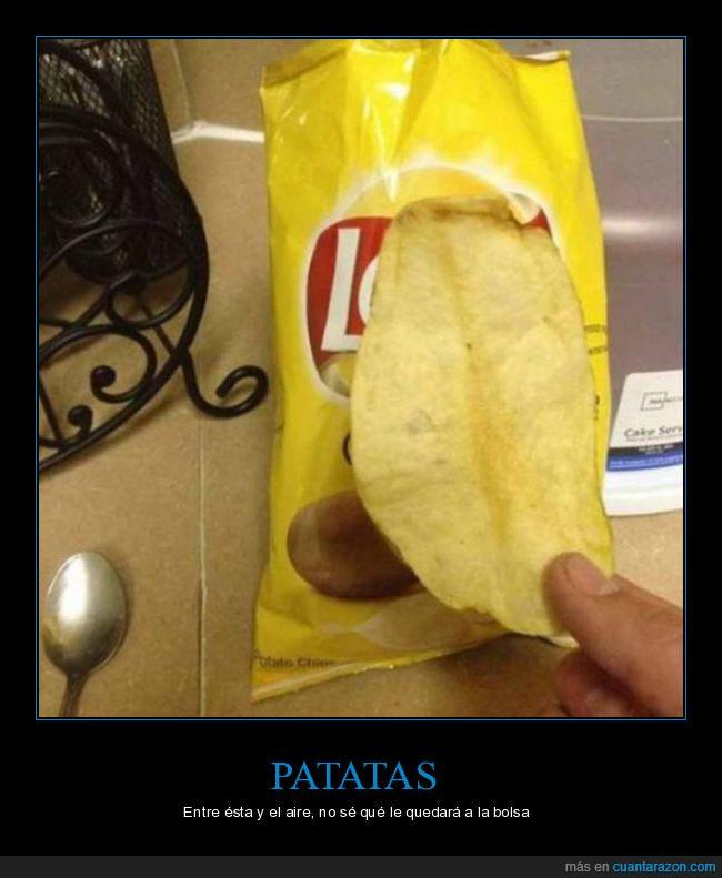 aire,bolsa,gigante,lays,patata
