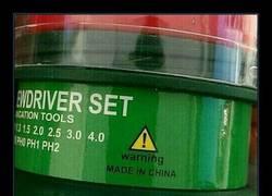 Enlace a Qué majos los chinos, ahora ya te avisan y todo de que sus productos son una mier*a