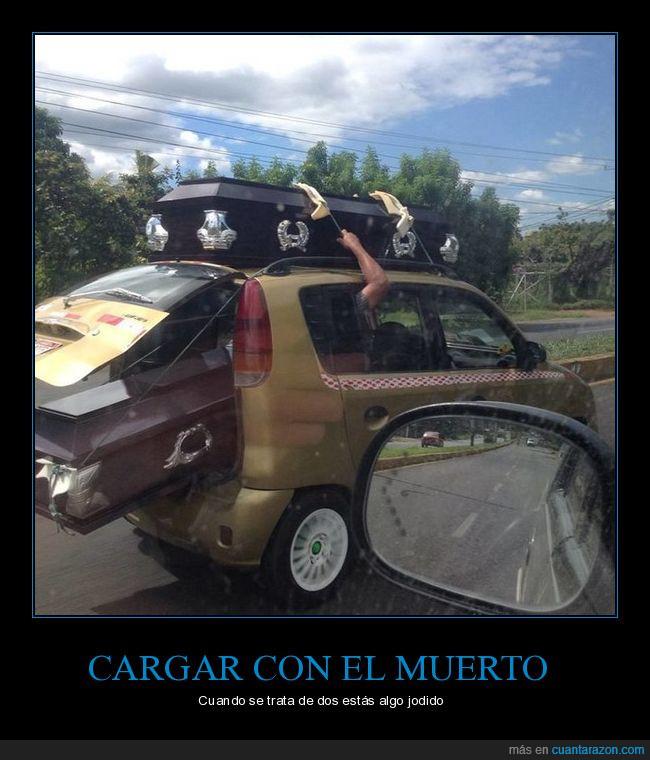 ataúd,cargar,coche,muerto,pequeño,tumbas