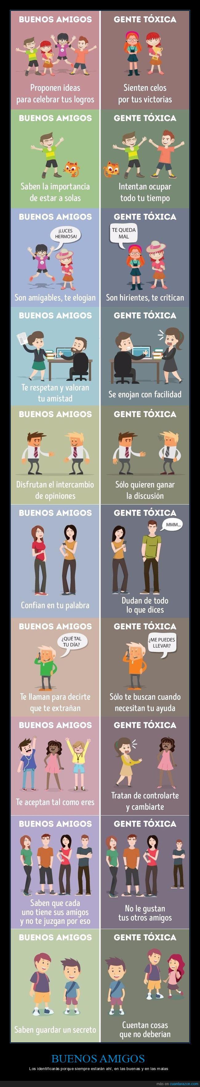 amigos,amistad,gente tóxica