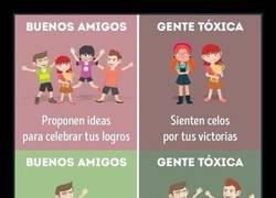 Enlace a 10 diferencias entre los buenos amigos y la gente tóxica