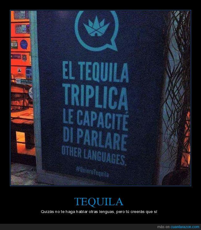 bar,cartel,hablar,lenguas,tequila