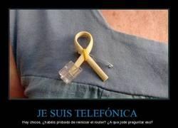 Enlace a JE SUIS TELEFÓNICA