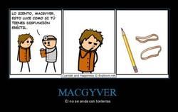 Enlace a No vaciles a MacGyver