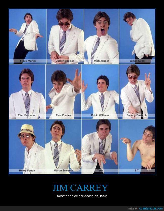 1992,celebridades,Clint Eastwood,E.T.,Elvis Presley,Henry Fonda,Jack Nicholson,James Dean,Jim Carrey,Martin Scorsese,Mick Jagger,Robin Williams,Sammy Davis Jr.,Steve Martin,talento,Yoda