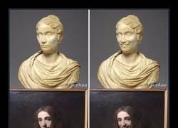 Enlace a Visita un museo y ve que las caras de las pinturas son demasiado serias y las cambia con faceapp