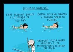 Enlace a Los 3 estilos de natación más usados