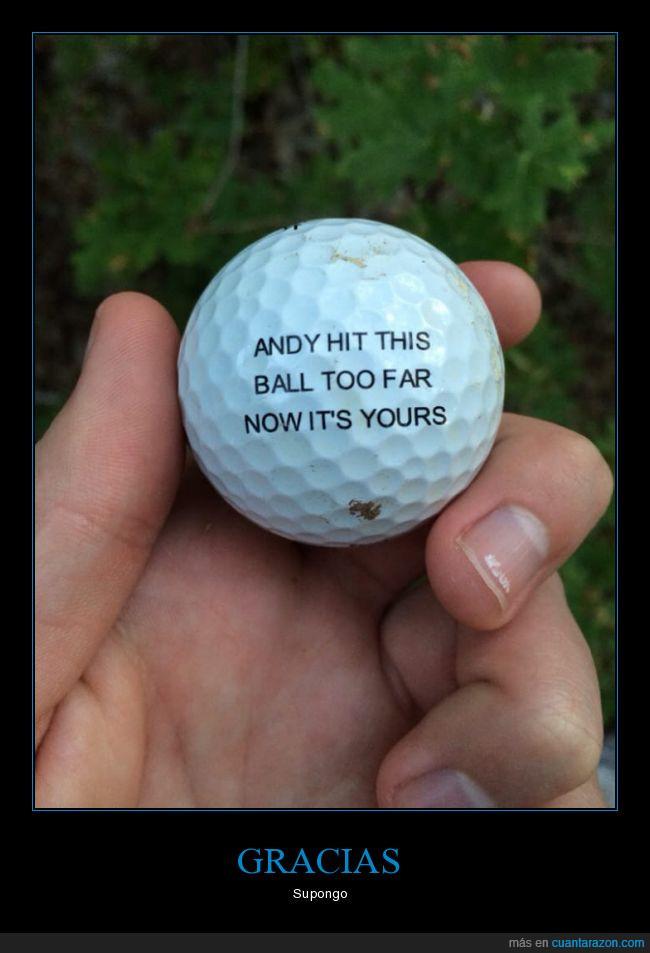 golf,pelota