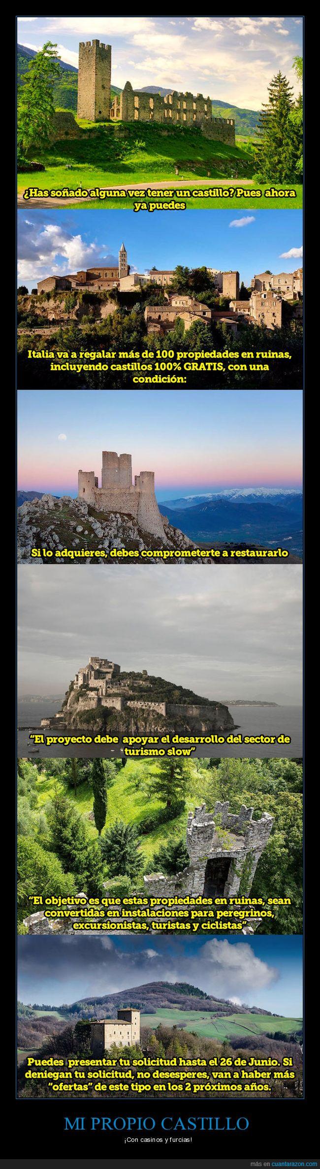 castillo,italia,restaurara