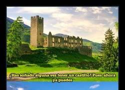Enlace a Italia está regalando algunos de sus viejos castillos, aquí explicamos cómo conseguir uno