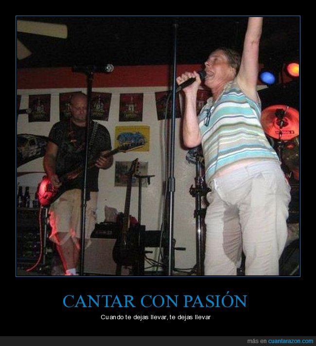 canción,cantar,meado,pantalones,pasión,pis