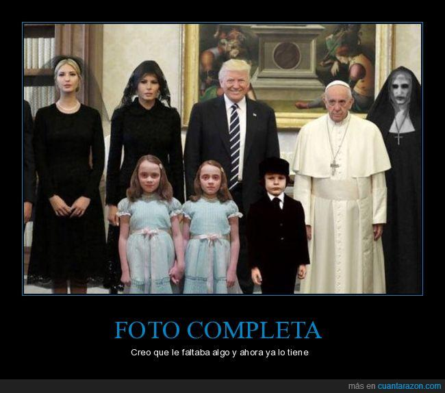 Donald,francisco,papa