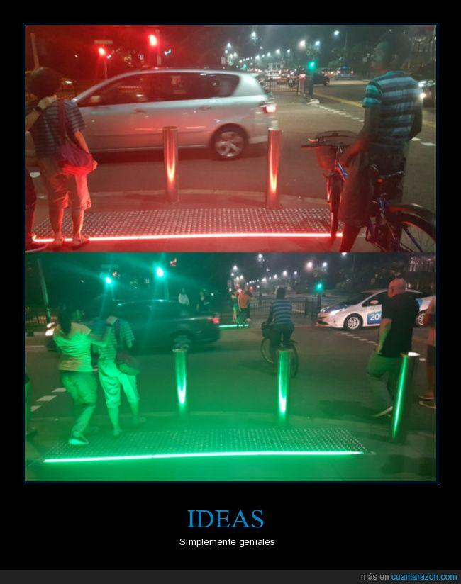 calle,luz,semaforo
