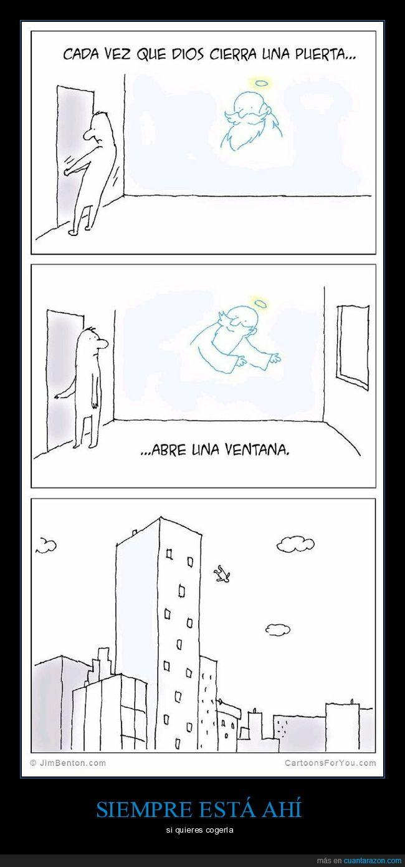 abrir,dios,puerta,ventana
