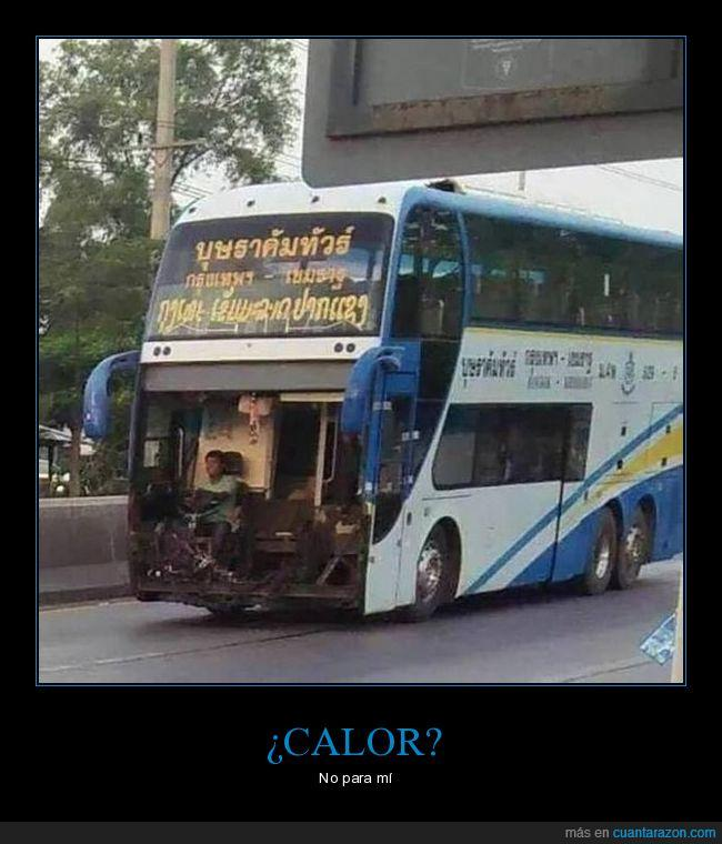 autobús,facia,frente