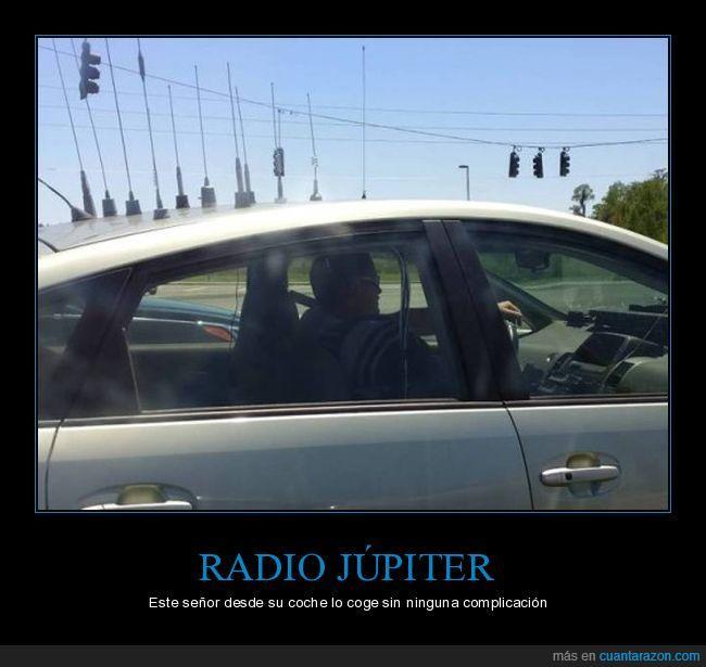 antenas,coche,júpiter,radio