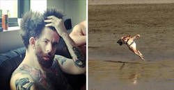 Enlace a Fails de fotos panorama que convierten a las personas en jodidos mutantes