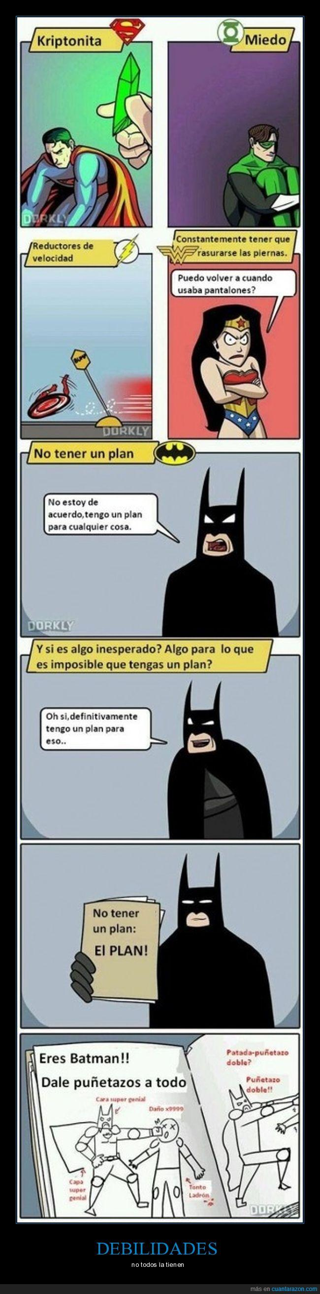 batman,es batman,flash,linterna verde,mujer maravilla,plan para todo,superman
