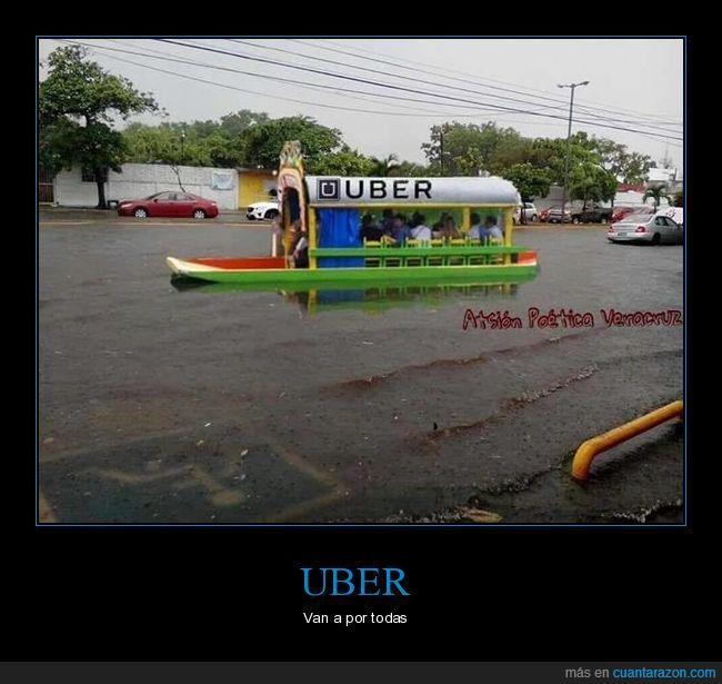 inundación,Uber,Veracruz