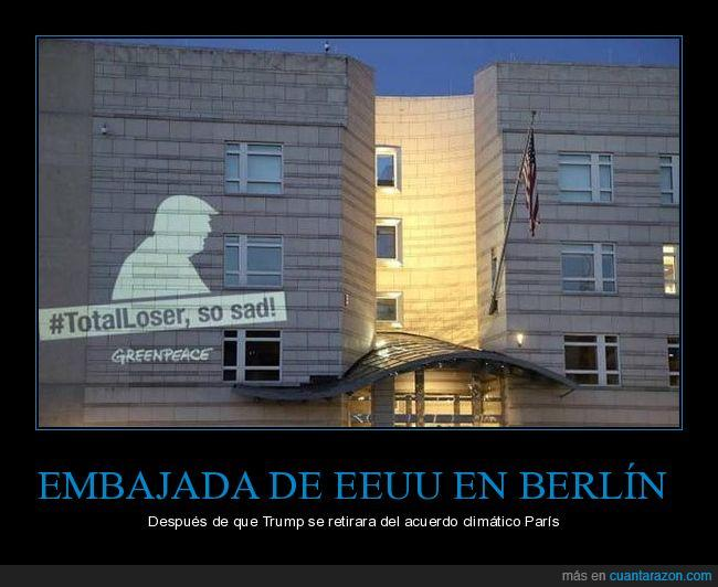 Donald trump,Emb ajada,Paris