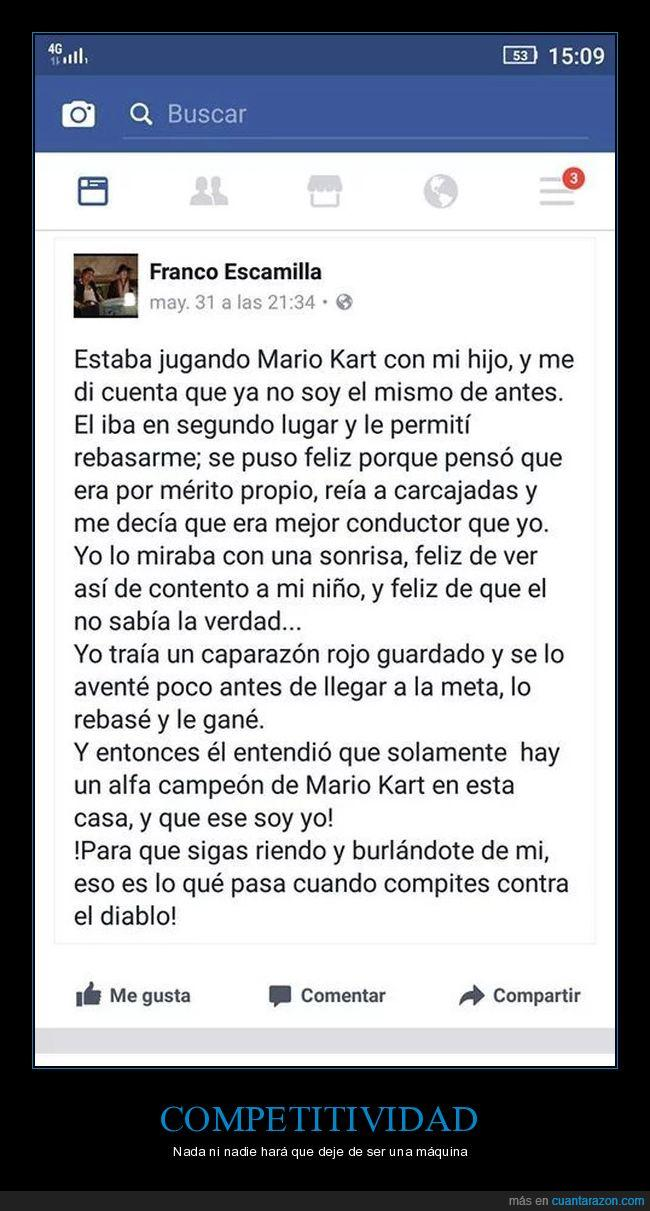 captura,facebook,ganador,hijo,mariokart,meta,screenshot,tortuga