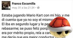 Enlace a Lo que ocurre cuando padre e hijo juegan al Mario Kart