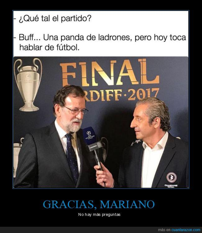 Champions,Mariano Rajoy,Presidente