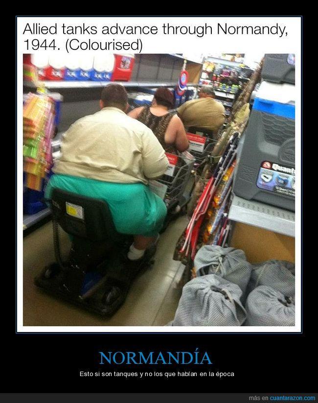 Estados Unidos,formación,Normandía,obesos,segunda guerra mundial,tanques