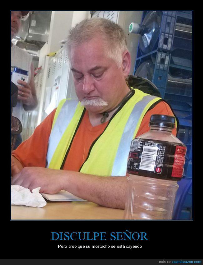 bigote,mostacho,señor