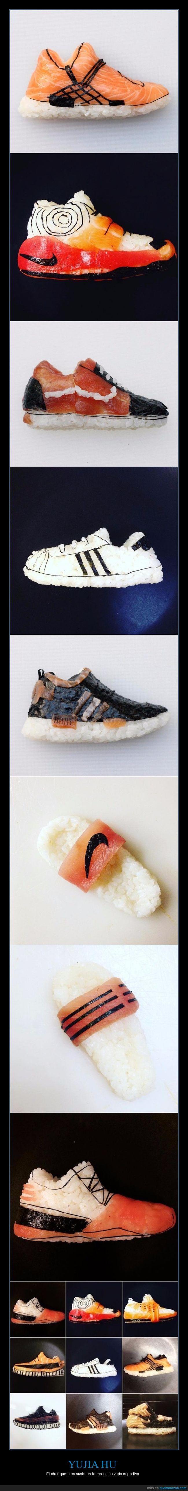 calzado,deportivo,sushi