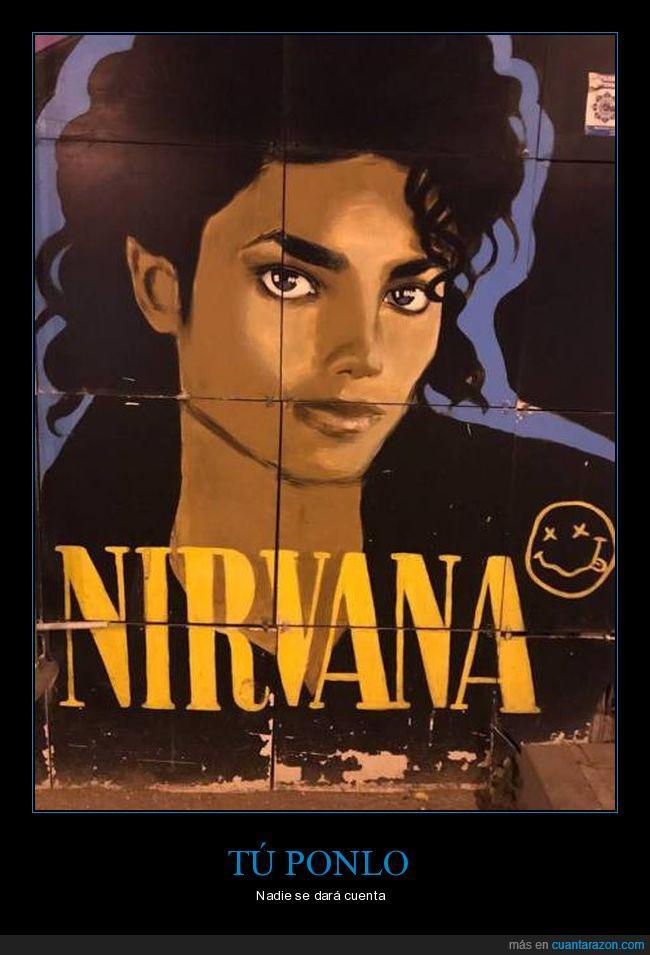 grunge,Michael Jackson,Música Pop,nirvana,no tienen nada que ver