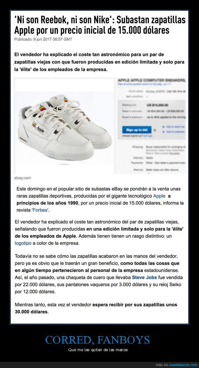 apple,baratos,ebay,subasta,venta,zapatillas