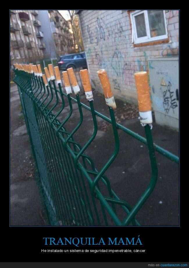 cáncer,cigarro,seguridad,tabaco,valla