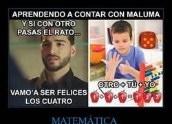 Enlace a Maluma el cantante que no tiene ni idea de contar ni cantar