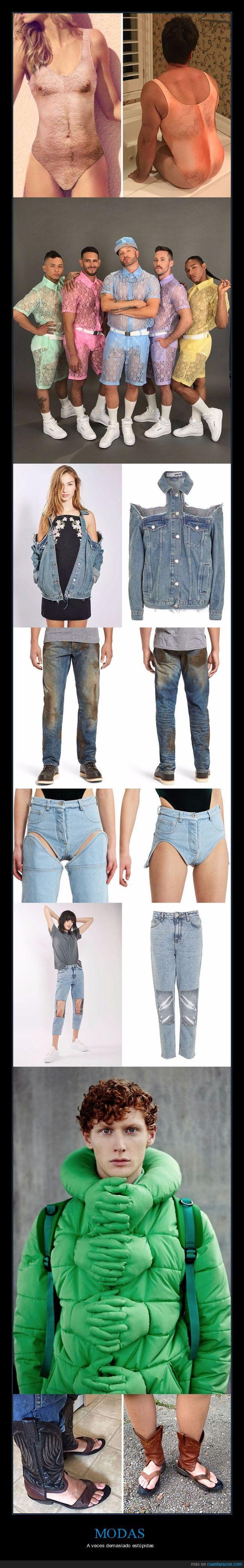estúpidas,modas