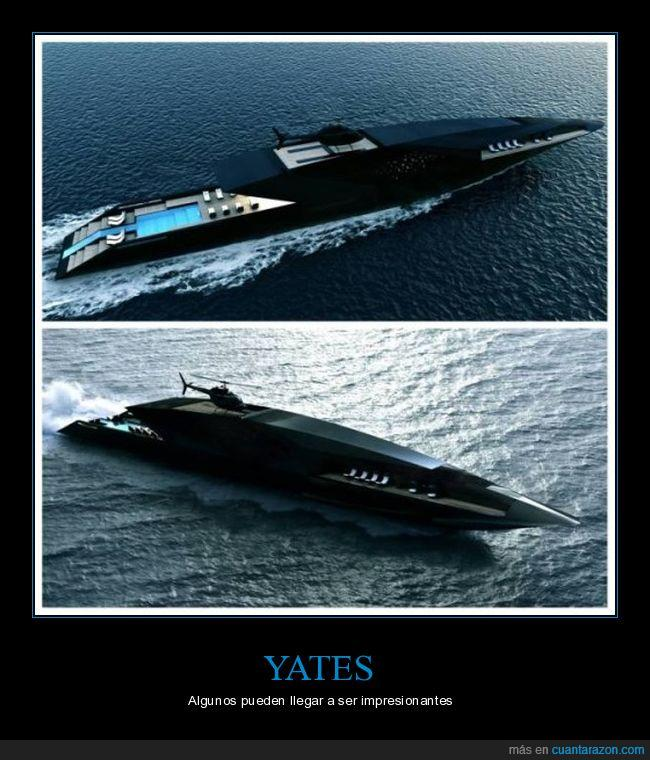 barco,diseño,increíble,mar,yates