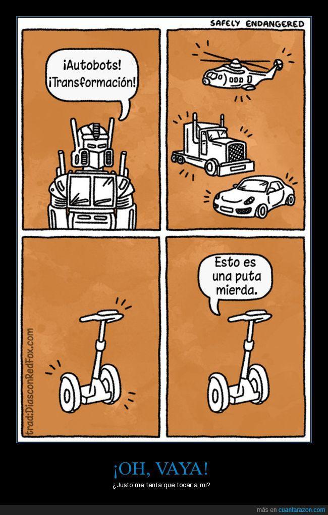 camión,coches,segway,transformers