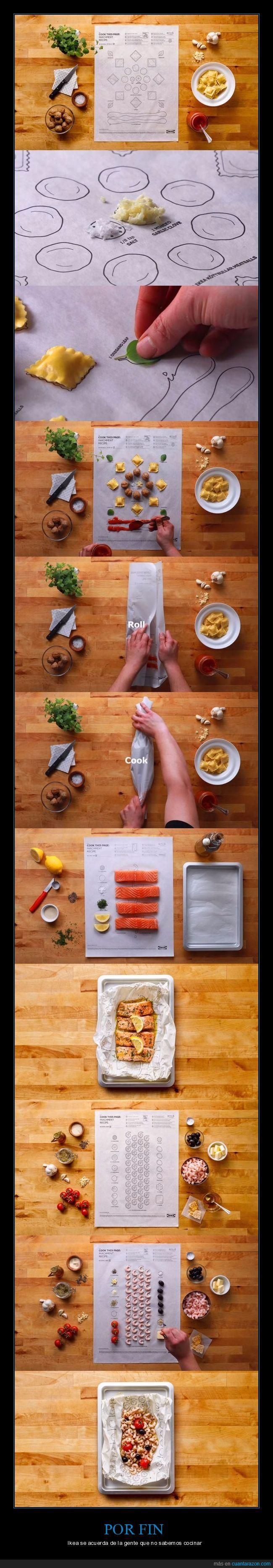 cocinar,ikea,recetas