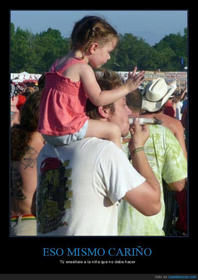 cariño,festival,marihuana,niña,porro