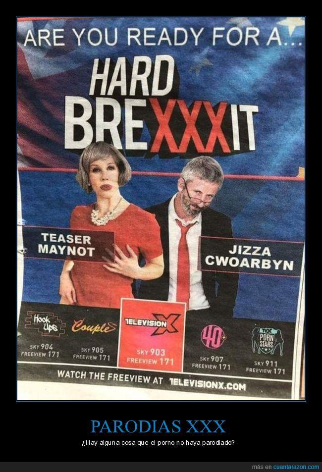 brex xxit,brexit,parodia,televisión X