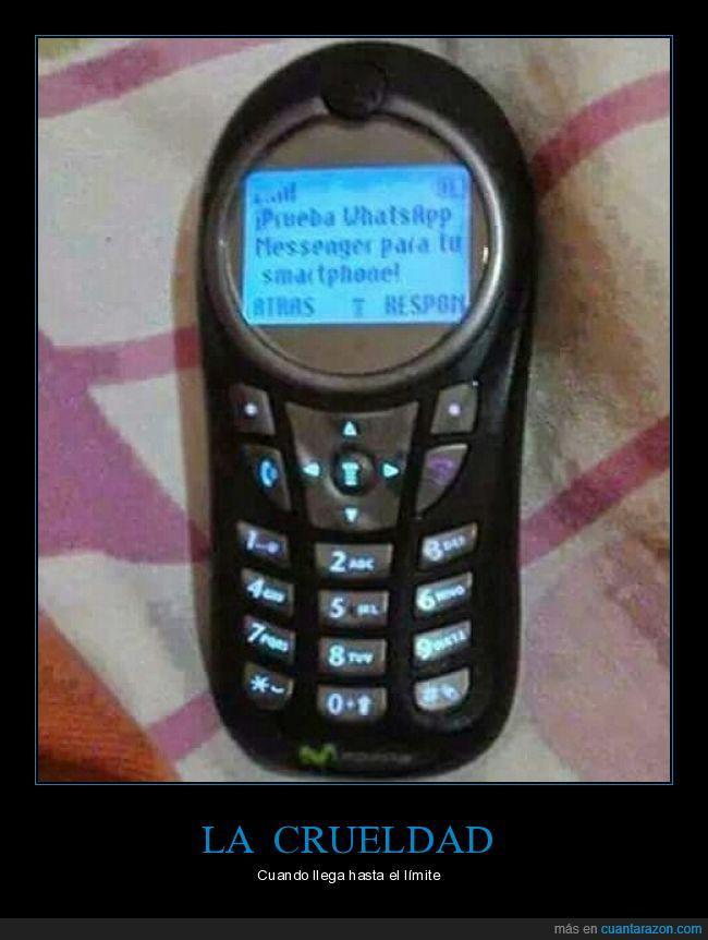 Amigos Crueles,móvil,sin internet,sms,whatsapp
