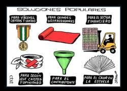 Enlace a SOLUCIONES POPULARES, por JR Mora