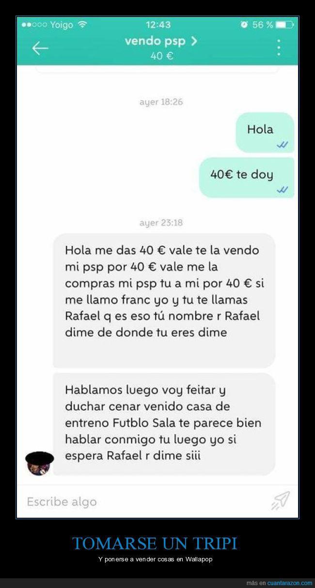 loco,vendo psp,venta,wallapop