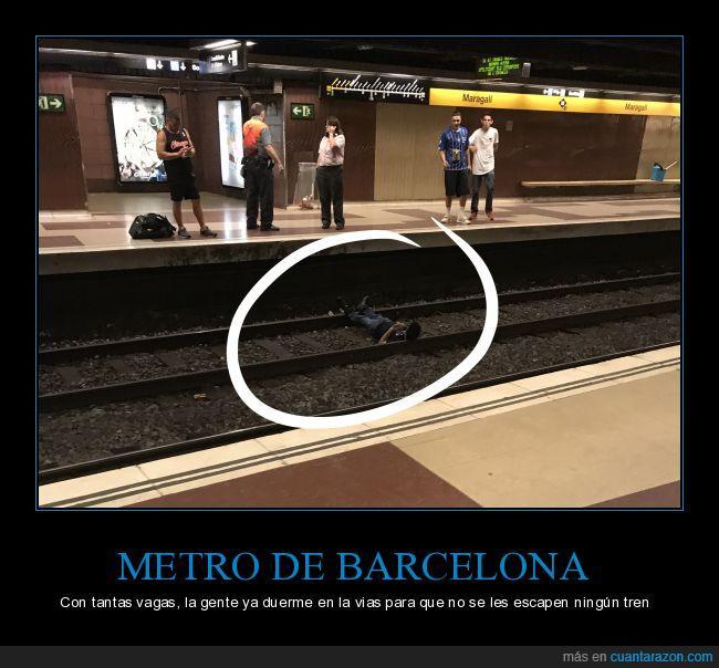 Barcelona,Metro,vagas,vivaespaña