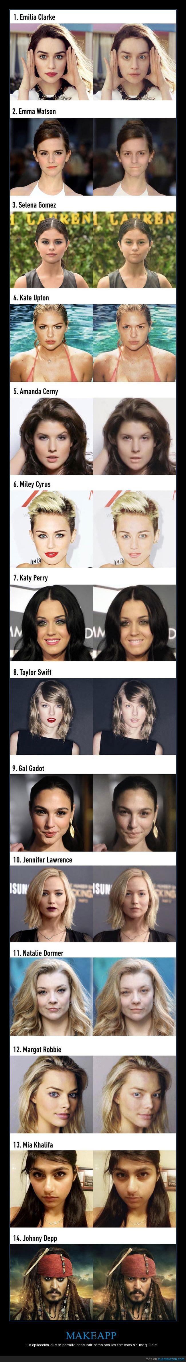 caras,famosos,maquillaje